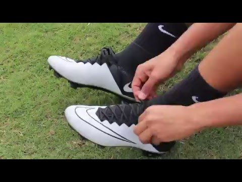 classic fit 72b6e deaa0 Nike Mercurial Superfly 4 Tech Craft - Light Bone Black - Review and  Playtest - YouTube