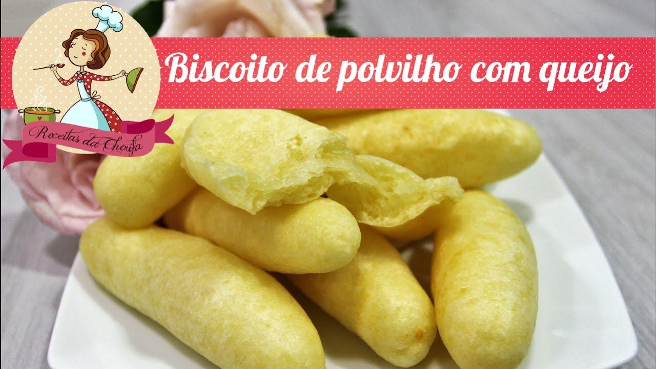 Top Biscoito Frito de Polvilho com Queijo - YouTube WZ74