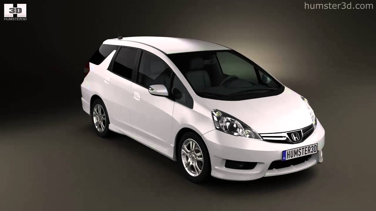 Honda Fit Jazz Shuttle 2012 Youtube