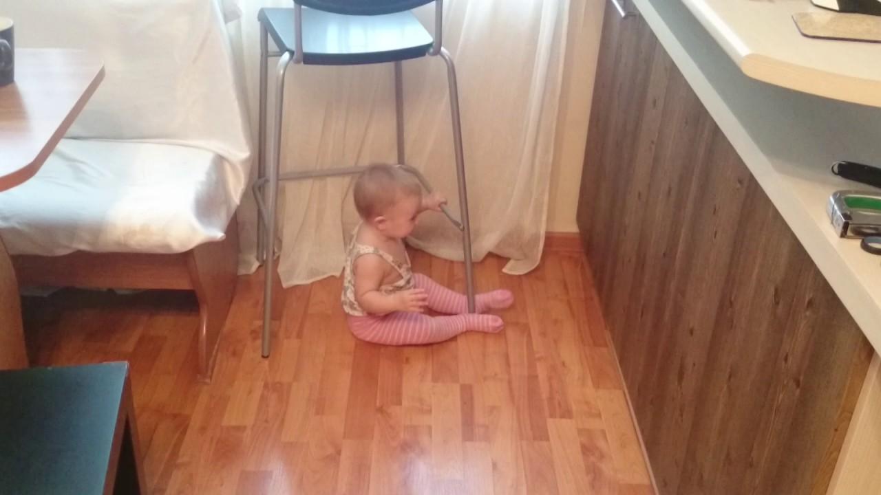 Барный стул ЛОФТ с регулировкой высоты - YouTube