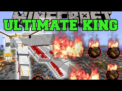 Minecraft: THE ULTIMATE KING (YOU HAVE 10 SECONDS TO RUN!) Mod Showcase