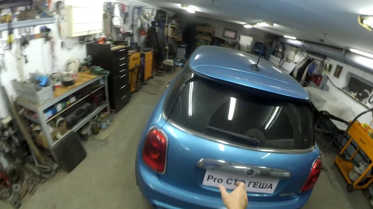 Легендарный автомобиль 60г - Мини Купер s: обзор повреждений,разборка для ремонта.