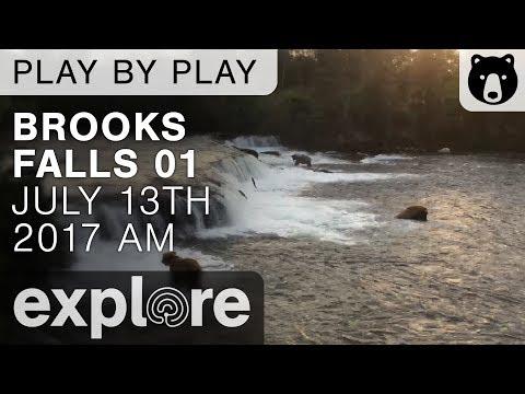 Brooks Falls 01 - Katmai National Park - July 13th, 2017
