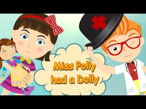 Miss Polly had a Dolly | Nursery Rhyme
