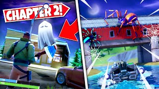 *NEW* FORTNITE HALLOWEEN DECORATIONS *APPEARING* IN HIDDEN LOCATIONS! ALL LOCATIONS & DETAILS!