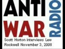 Lew Rockwell with Scott Horton 11/3/08 (Part 1/4)