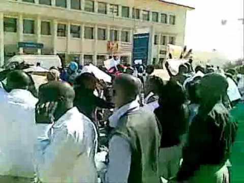 manifestation employés shell senegal