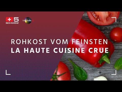 Rohkost vom Feinsten - La Haute Cuisine Crue - TTD Sendung vom 19.04.2017