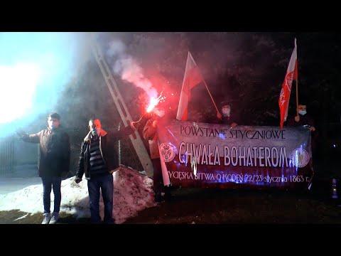 """""""Na Kodeń marsz"""" w 158. rocznicę wybuchu Powstania Styczniowego"""