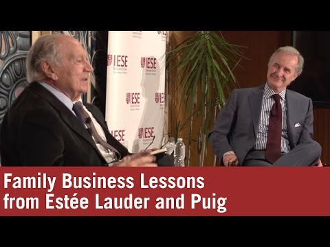 Passion, People and Performance: Family Business Lessons From Estée Lauder and Puig