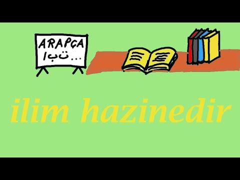 Arapca Gramer Dersleri 3