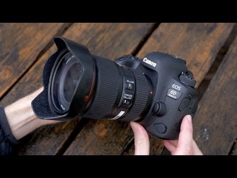 Canon 6D Mark II - Hands-on First look (and comparisons to 6D)