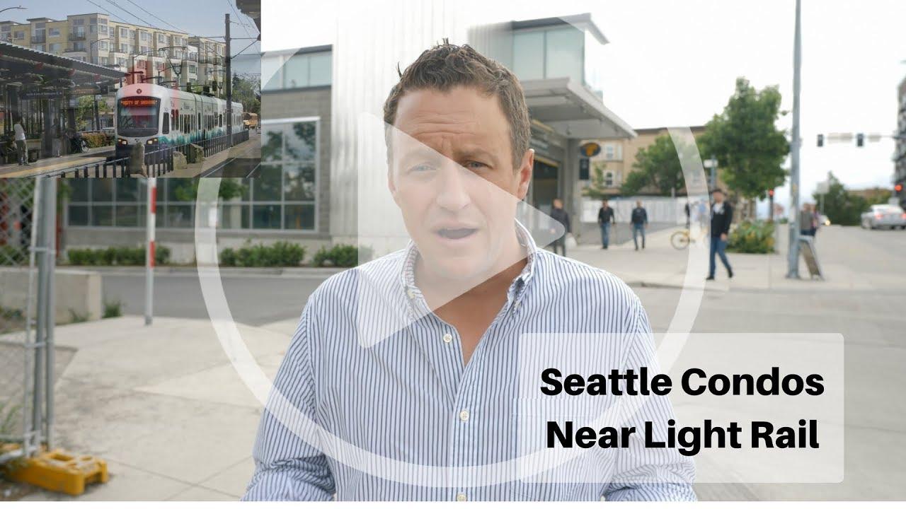 Buy A Condo Near Seattle Light Rail? Free Map