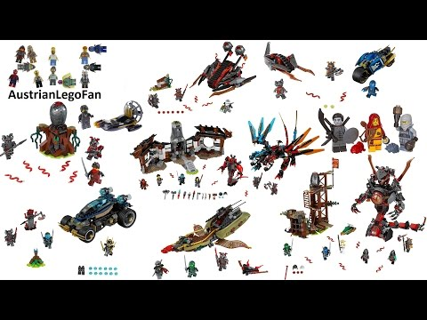 All Lego Ninjago Hands of Time Sets 2017 Complete Collection - Lego Speed Build Review streaming vf