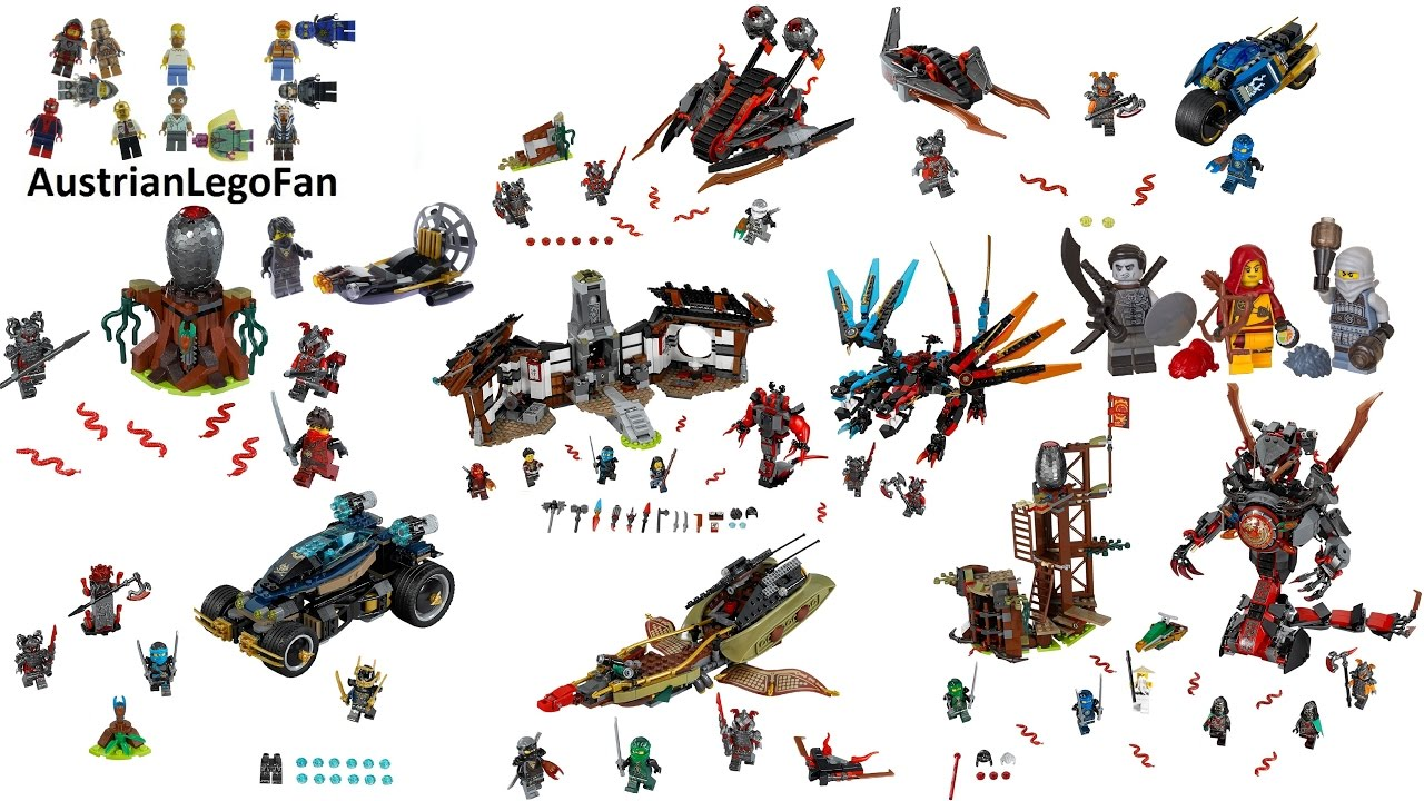 All Lego Ninjago Hands of Time Sets 2017 Complete Colle ...