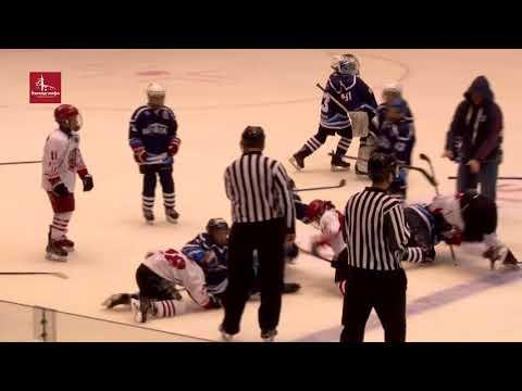 Хоккейный матч детских команд в Саратове закончился массовой дракой