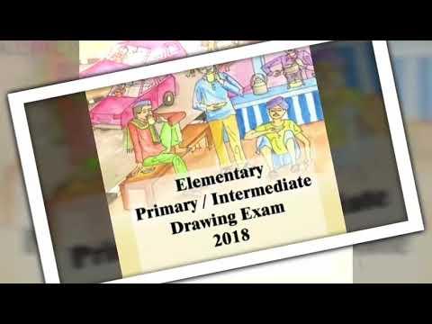 Elementary and Intermediate Exam 2018 – Creative Art