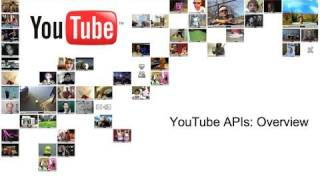 YouTube API Overview