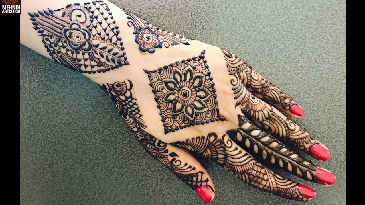 Mehndi design 2017 new model - Howto Do Modern Bride S Bridal Mehndi Latest Mehndi Design 2017 Stylish Henna Art Mehendi