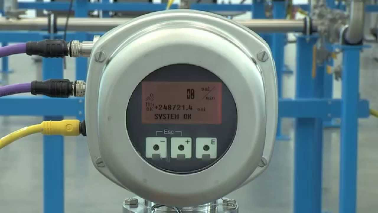 Setting up Empty Pipe Detection – Promag 53