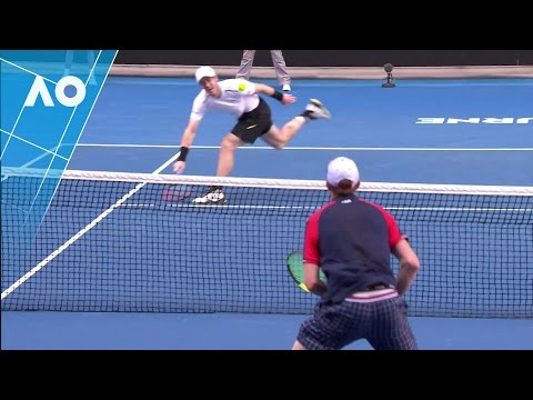 The best court coverage you've ever seen from Andy Murray | Australian Open 2017
