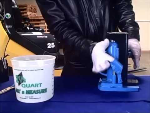 Hydraulic Jack Oil Change - How To Change Hydraulic Oil In Various Hydraulic Jacks