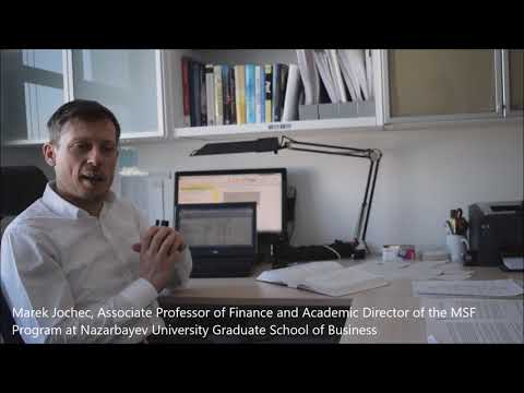 What does it mean Master of Science in Finance program at NUGSB?
