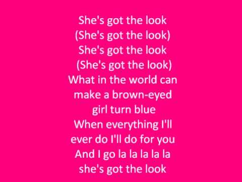 (She's Got) The Look- Roxette Lyrics