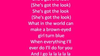 (She's Got) The Look- Roxette Lyrics
