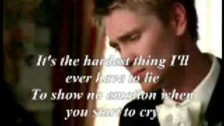 the hardest thing [lyrics]-98 degrees
