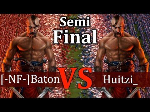 Cossacks 3 Tournament - [-NF-]Baton vs Huitzi_   SEMI-FINAL - Expert vs Expert