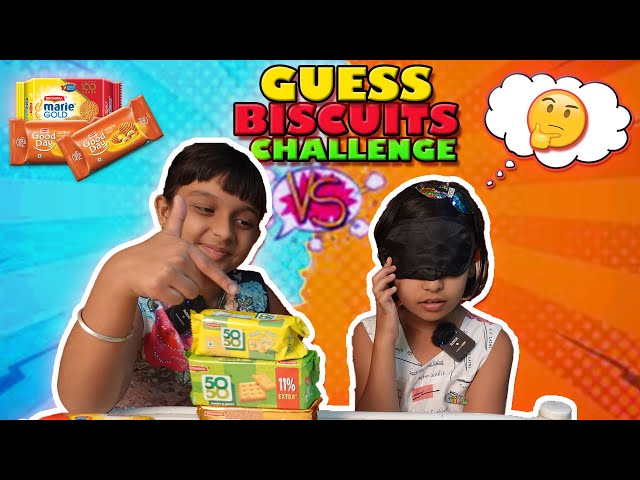 GUESS THE BISCUITS CHALLENGE | ICE CREAM CHALLENGE | #LearnWithPari #learnwithpriyanshi