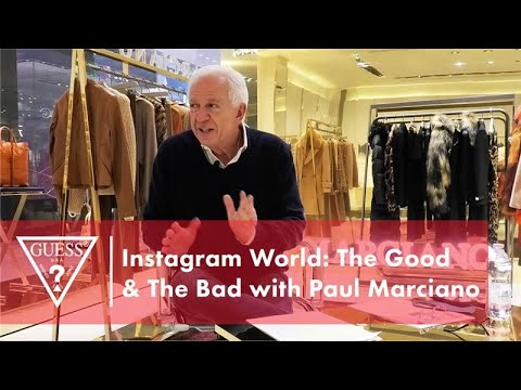 Instagram World: The Good & The Bad with Paul Marciano