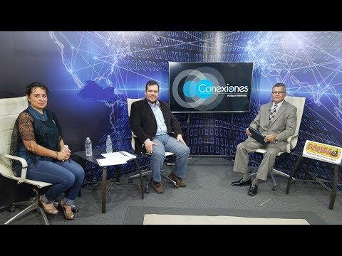 Ima Guirola y Roberto Burgos en Conexiones con William Meléndez