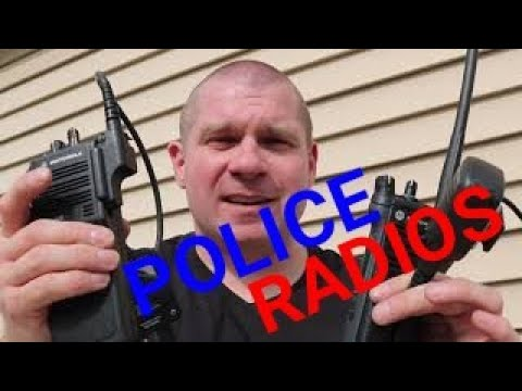 How POLICE RADIOS Work | A Comparison Of Old And New
