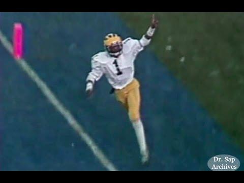 1981 Rose Bowl Anthony Carter TD