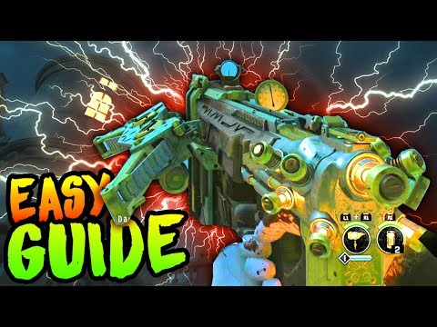 """DEAD OF THE NIGHT: """"SAVAGE IMPALER"""" CROSSBOW EASTER EGG GUIDE (How to Build The Wonder Weapon)"""