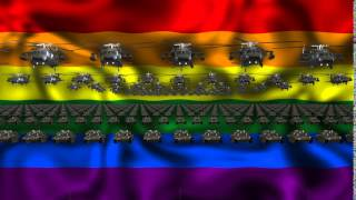 Free download Video Loops - Gay Army. Vj clip para vj loops