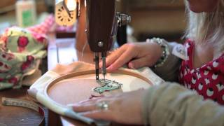 Freehand Machine Embroidery Workshop - an introduction to one of our day courses.