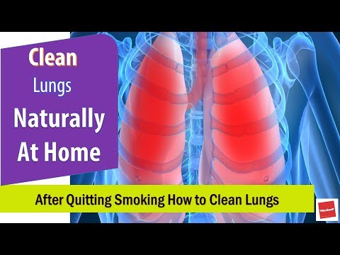 How To Clean Lungs After Quitting Smoking Naturally | Lung Cleaning Tips