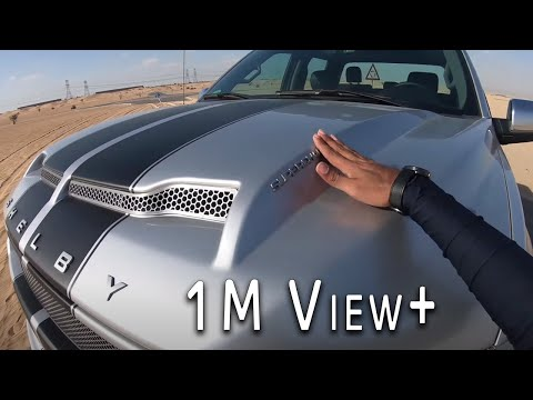 Dubai First 755hp FORD F-150 Shelby - POV TEST DRIVE