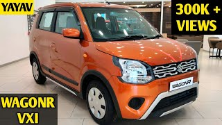 BS6 MARUTI SUZUKI WAGONR VXI 1.2 2020 || PRICING || FEATURES || EVERYTHING || FULL DETAILED REVIEW |