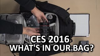 What's in our bag? - CES 2016