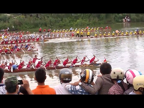 Buông phao bảng B [Lộc Hạ lao như tên bắn] - Lễ hội Bơi đua truyền thống KG 2/9
