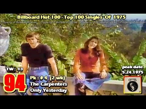 1975 Billboard Hot 100 YearEnd Top 100 Singles  1080p