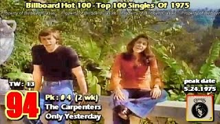 "1975 billboard hot 100 ""year-end"" top 100 singles [ 1080p ]"