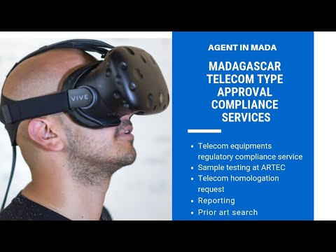 Madagascar local agent type approval for telecommunication and radiofrequence equipments