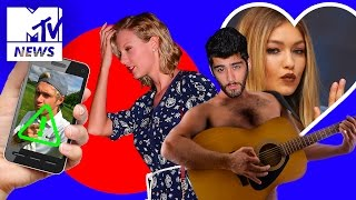 Taylor Swift Heads On Night Out With Zayn Malik And Gigi Hadid In New York | MTV News