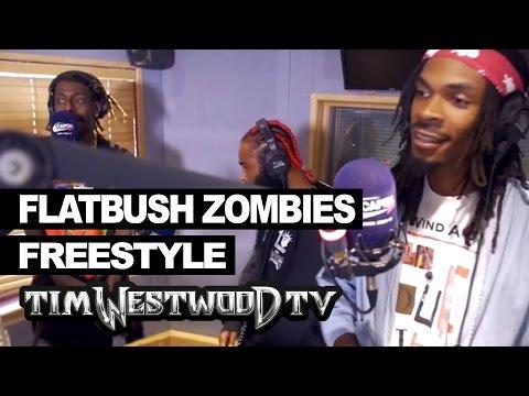Flatbush Zombies freestyle - Westwood