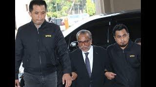 Shafee Abdullah arrives at KL Court